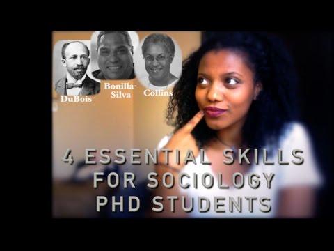 4 Essential Skills You Need   PhD in Sociology   Scholar Noire