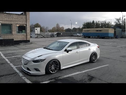 Mazda 6 Amp Work Emotion Cr Kiwami Wheels Youtube