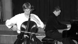 J. Brahms — Cello Sonata No. 1 in e-moll, Op. 38, 1st mov — Allegro non troppo