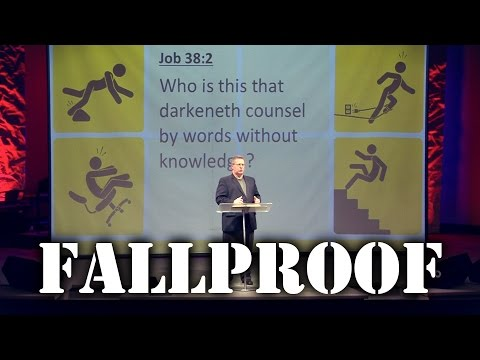 """Fallproof"" Part 1 – Pastor Raymond Woodward"