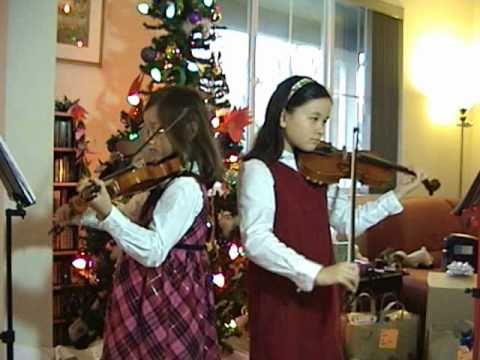 Winter Wonderland - F. Bernard - Violin Duet