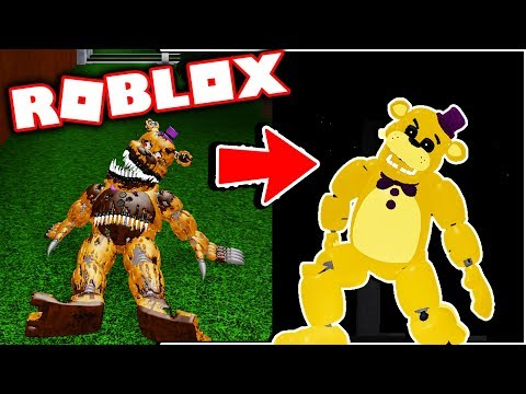 New Aftons Family Diner Gamepass True Fredbear! Five Nights at Freddy's Roblox thumbnail