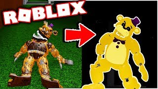 New Aftons Family Diner Gamepass True Fredbear! Five Nights at Freddy's Roblox