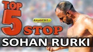Top 5 Stop Sohan Rurki at Kabaddi Tournament