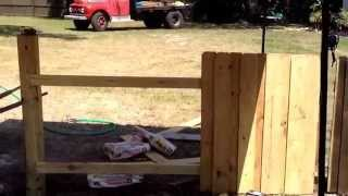 The Right Way To Build A Board On Board Fence: Pt 1