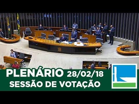 PLENÁRIO - Sessão Deliberativa - 28/02/2018 - 13:55