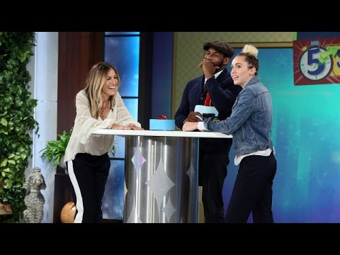 Thumbnail: 5 Second Rule with Miley Cyrus and Sarah Jessica Parker