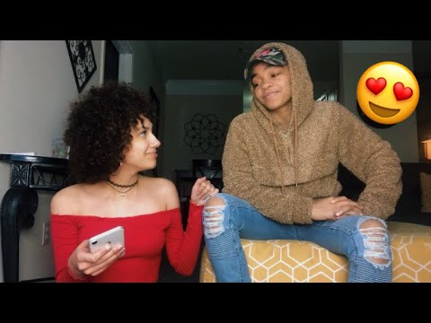 READING POEMS WE WROTE ABOUT EACHOTHER! || Kayla and Sye