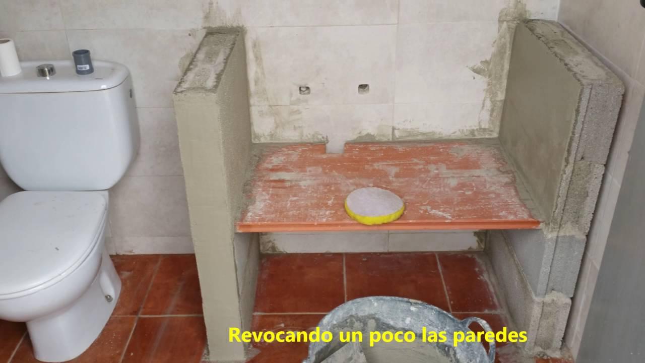 Construcci n lavabo rustico youtube Muebles de lavabo de obra