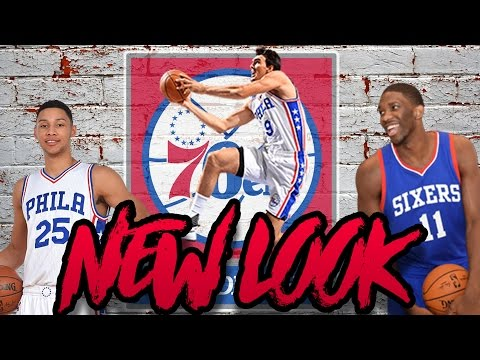YOUNG DYNASTY! Rebuilding the New Look Philadelphia 76ers! NBA 2K17 My League