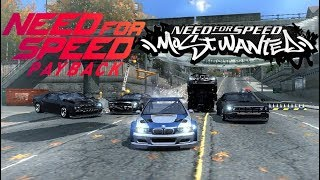 Super Turbo M3 GTR vs 10.000 Payback Police Cars (Extreme Hard Final Pursuit-NFS MW)