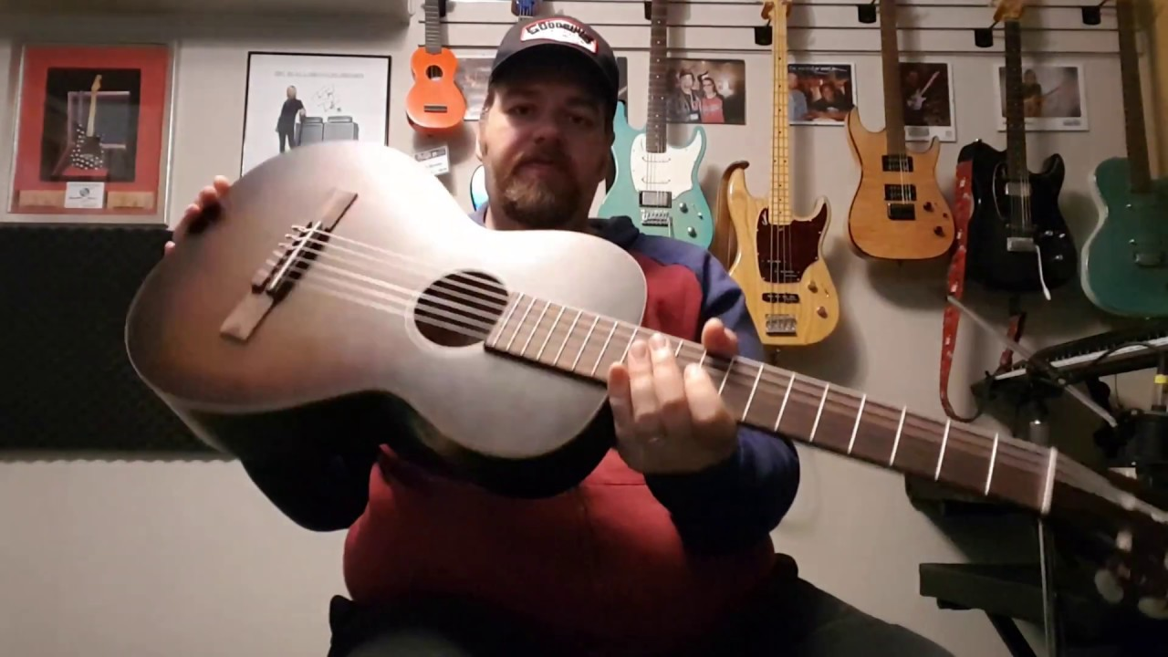 Art & Lutherie Roadhouse Nylon Guitar review NGD !