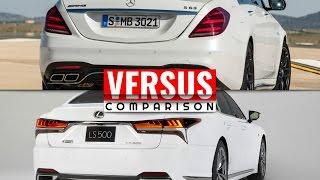 2018 Mercedes S63 vs 2018 Lexus LS F-SPORT | Luxury Performance Sedan Shootout