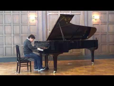 J.S. Bach Klavier Concerto No.5 f-moll BWV 1056 Presto (12years old)
