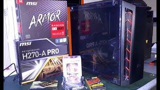 H270-A / i7 7700 / RX 570 / 480GB SSD / 8GB RAM PC MONTAJ