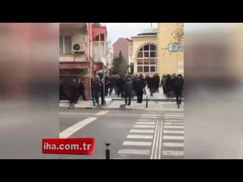 İstanbul Sancaktepe'de silahlı kavga kamerada 07.02.2017