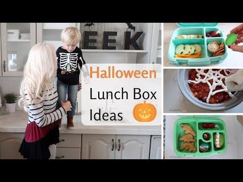 HALLOWEEN 🍱 School Lunch box ideas!