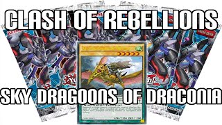 Yugioh Clash of Rebellions Sneak Preview Promo - Sky Dragoons of Draconia