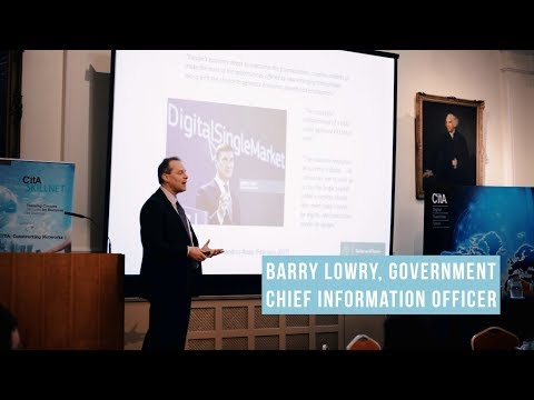 Barry Lowry, Government Chief Information Officer, April 2018