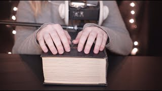 ASMR - 💤📕 Reading You to Sleep - Soft Speaking, Whisper, Tapping, Page Turning
