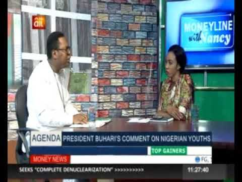 NOIPolls CEO, Dr Bell Ihua on the MoneyLine Show with Nancy