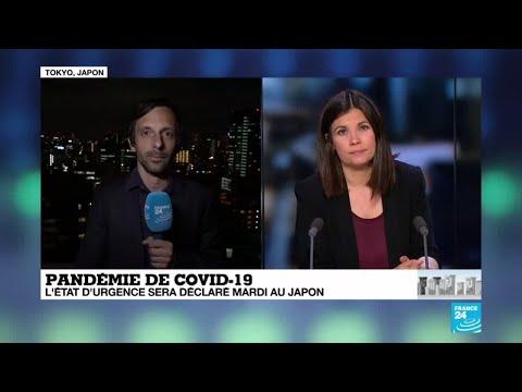 Coronavirus au Japon: L'état d'urgence sur le point d'entrer en vigueur
