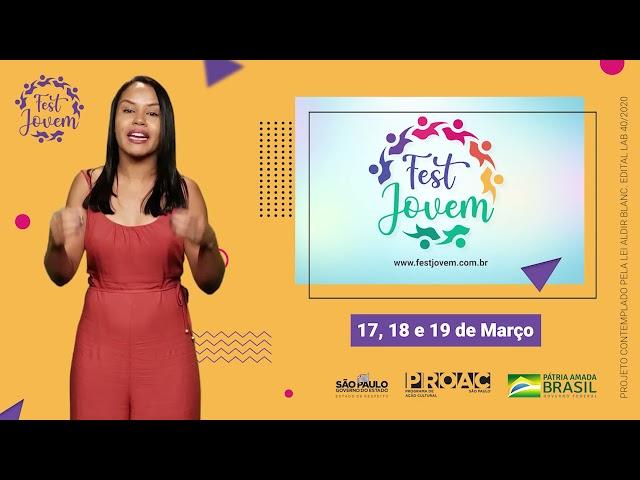 Fest Jovem   Festival Jovem de Cultura e Arte   17, 18 e 19 de Março, 2021