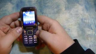 обзор телефона Samsung SM-B310E Duos