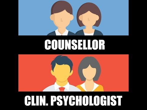 Counsellor vs Clinical Psychologist