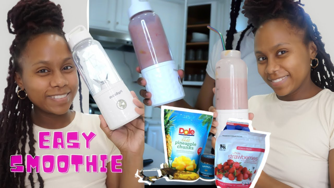 EASY Smoothie making with Popbabies Personal Blender | Smoothie Recipe
