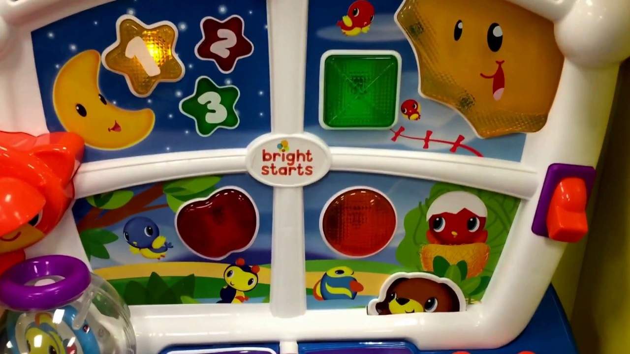 Bright Starts Learn Giggle Activity Station Youtube