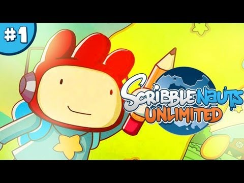 ScribbleNauts: Unlimited - Let's Play / Playthrough / Walkthrough - Part 1 thumbnail
