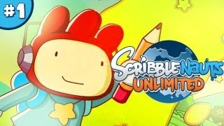 ScribbleNauts: Unlimited - Let's Play / Playthrough / Walkthrough - Part 1