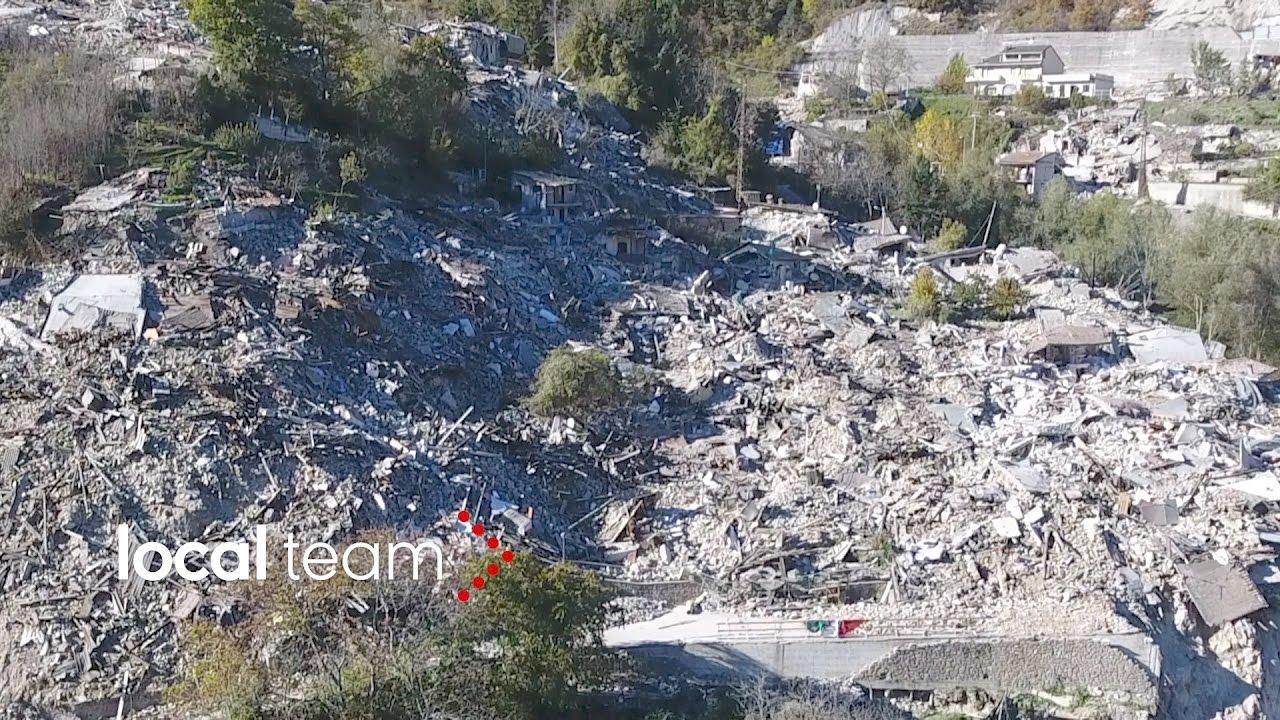 Pescara Camera Live : Pescara del tronto rasa al suolo: video shock dal drone youtube