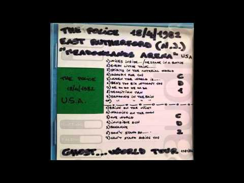 "THE POLICE - East Rutherford, NJ 18-04-82 ""Meadowlands Arena"" USA (full show audio)"