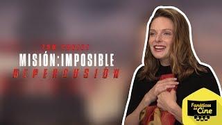 Rebecca Ferguson: Me pone feliz que haya gustado mi personaje en Misión Imposible