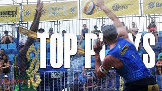 CBV Fortaleza 2018 • TOP MENS PLAYS #3 • Beach Volleyball World