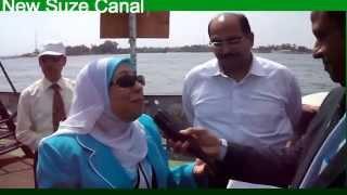الاذاعة المصرية تحتفل بعيدها ال81 فى قناة السويس الجديدة يونيو2015