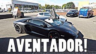 GO PRO HERO 5 BLACK: LAMBORGHINI AVENTADOR TEST!!