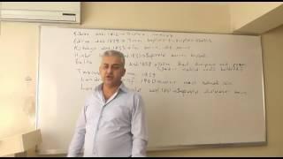 TEKRAR DERSİ 8 OSMANLI SiYASi TARiHi VE ISLAHATLAR - II