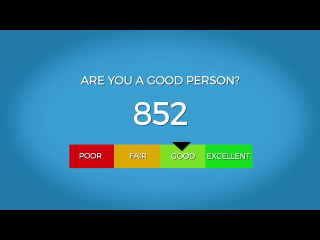 Are You a Good Person? Take the test!