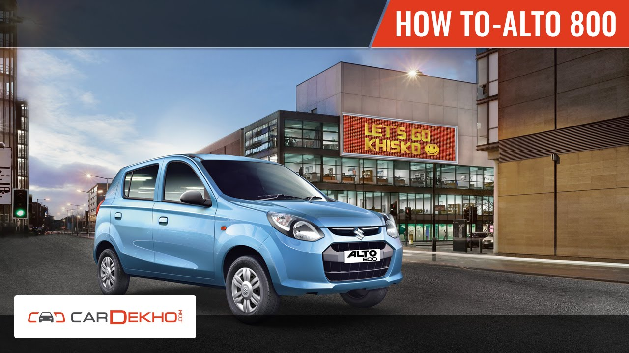 How to Switch from Petrol to CNG in Alto 800   CarDekho com