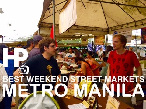 GoPro Best Weekend Street Markets in Makati Metro Manila Philippines Tour by HourPhilippines.com