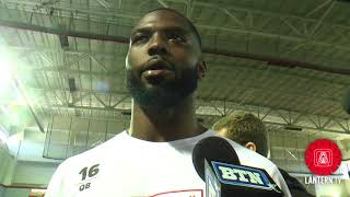 Ohio State Pro Day: Former Ohio State QB J.T. Barrett speaks after 2018 pro day