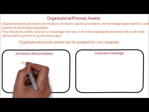 9. PMP | What are the Organizational Process Assets | Overview with examples