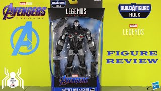 Marvel Legends WAR MACHINE Avengers Endgame Wave 2 Hulk BAF Figure Review