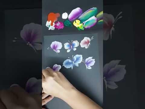 cách vẽ con bướm đẹp, đơn giản, hiệu quả cho mọi người