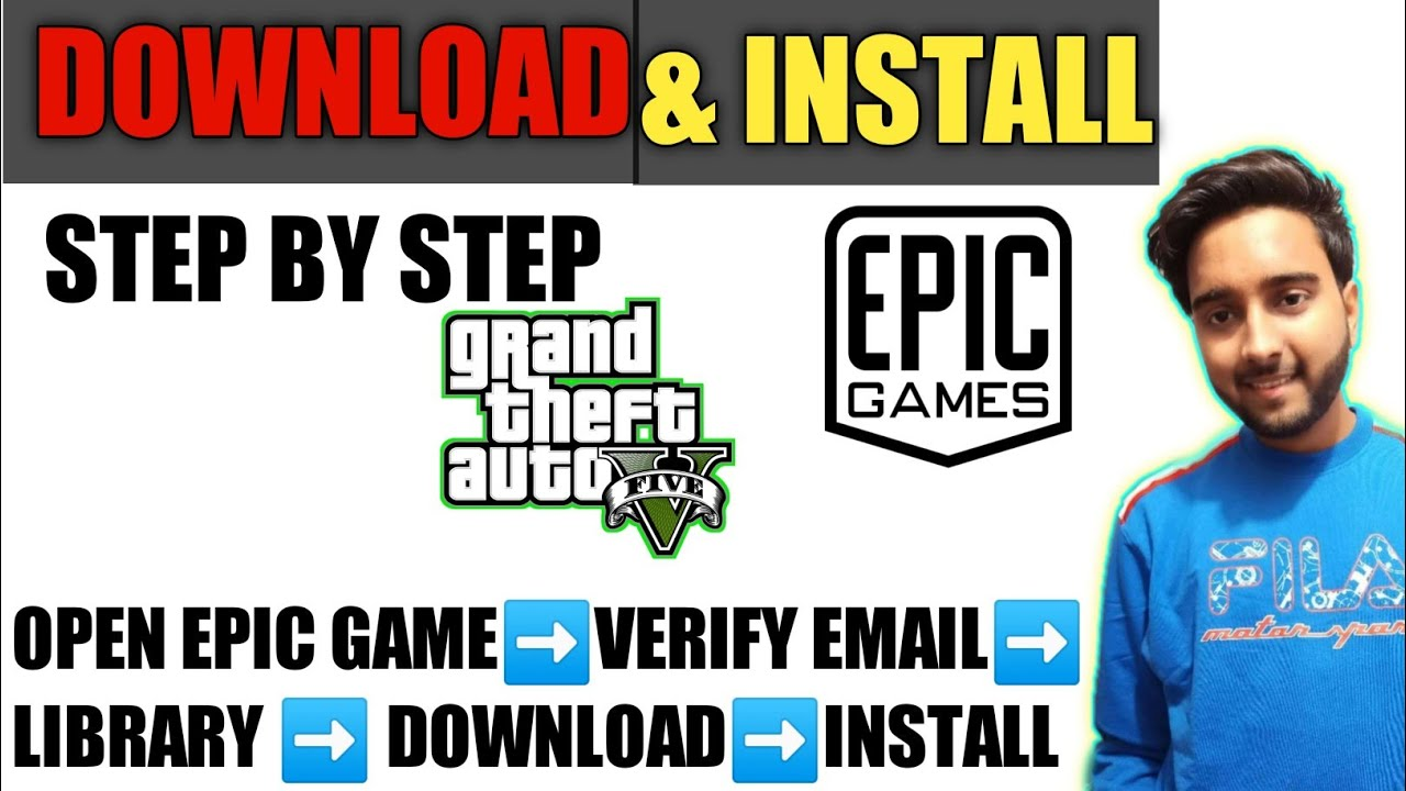 How To Download GTA V/GTA 5 Game Free From Epic Games Store {Full Details}