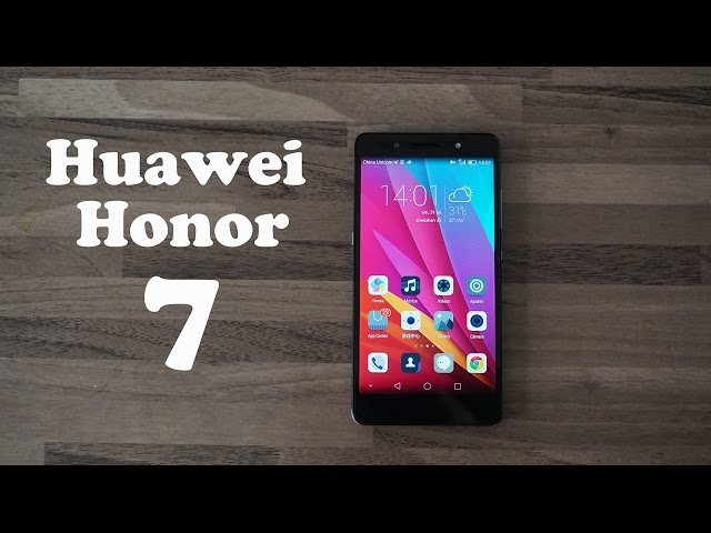 Review Huawei Honor 7 /Español/ Honor vuelve a por todas!