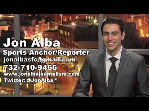Jon Alba Sports Anchor/Reporter/Host Reel - Spring 2017